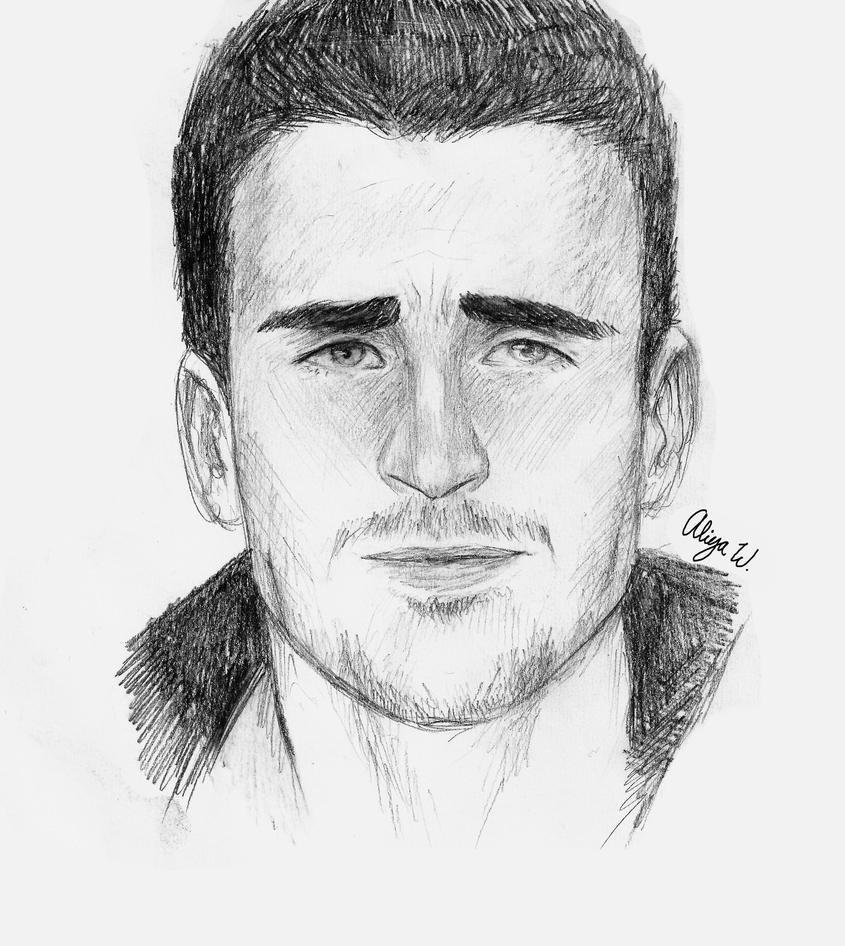 Chris Evans Sketch By Funkysock321 On DeviantArt