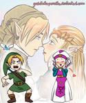 Link x Zelda... wait