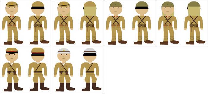 WW2 Japanese Army