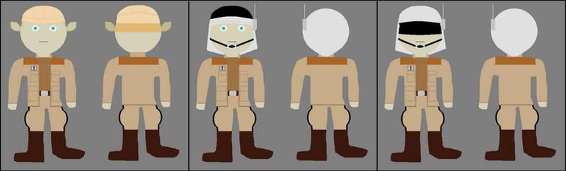 Star Wars - Allied Officers