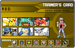 Red's trainer card by the-PKMN-trainer