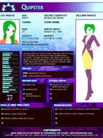 Jackie Quinn- Quipster SGPA Villian Form by brainysmurf97