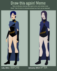 Raven Before And After by brainysmurf97