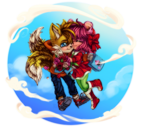 Gift- Tails and Amy