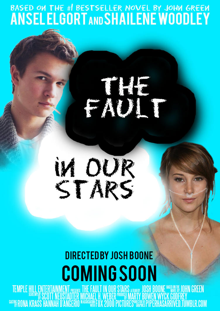 the fault in our stars movie poster by scentofpetrichor on