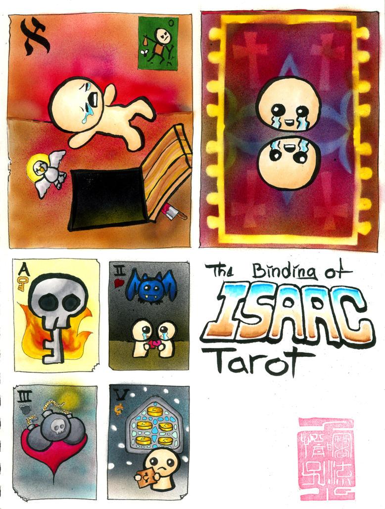 Binding of Isaac Tarot by jonnay