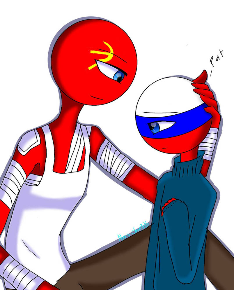 Countryhuman [USSR and Little Russia] by keinjidark on ...