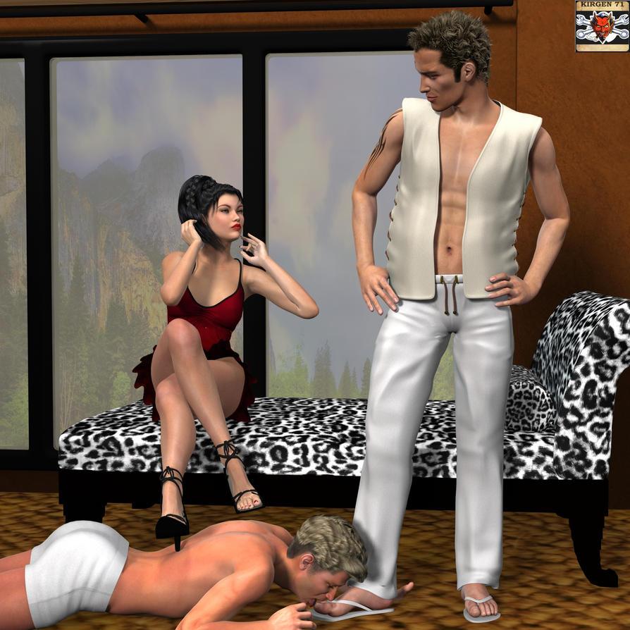 threesome hot lesbian