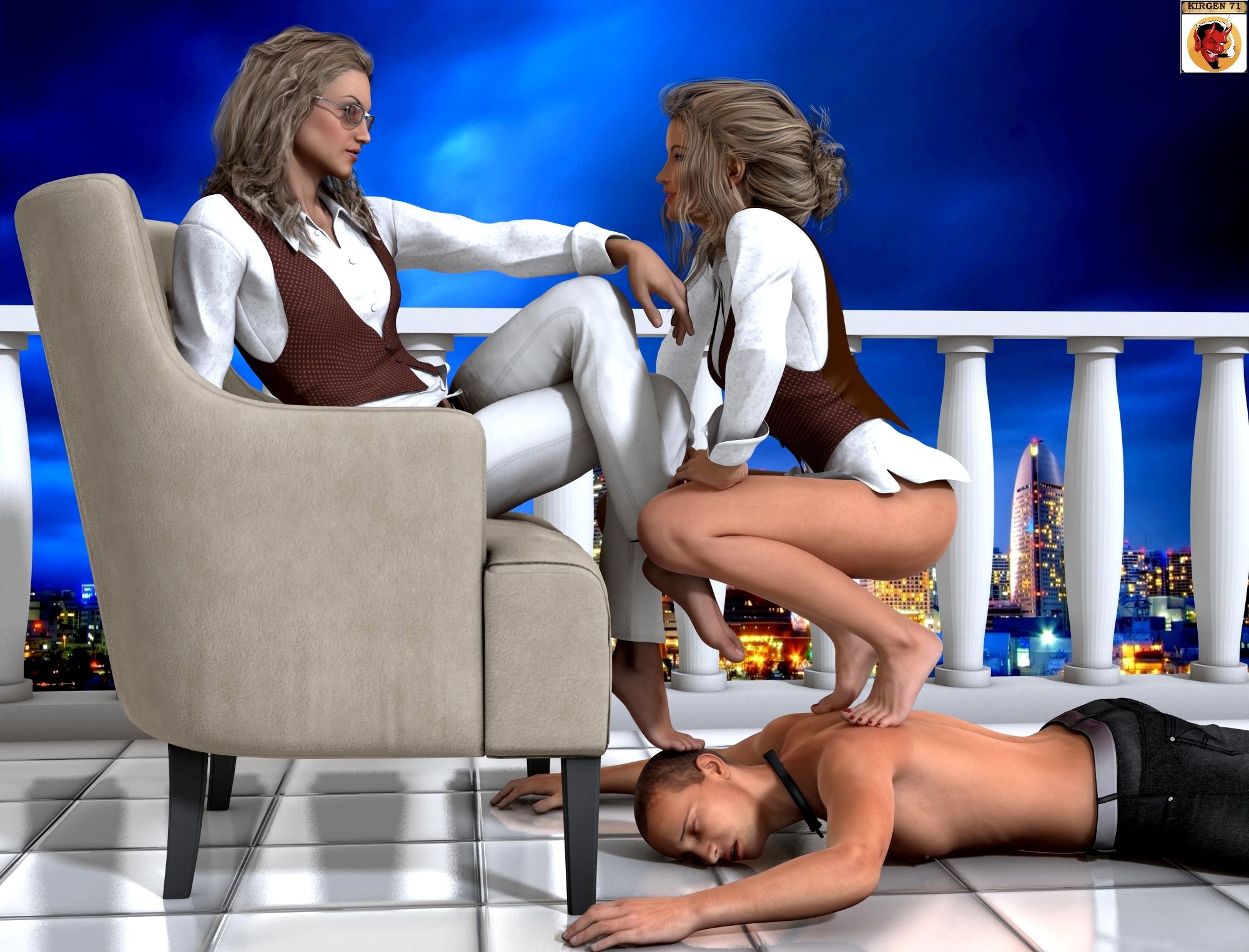 Footstool slave