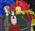 Ib Happy 9th Anniversary by siho505
