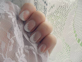 Wedding design #1 by NailedItWithGlitter