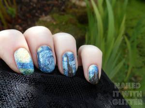 Starry Night Decals