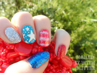 4th July 2015 by NailedItWithGlitter