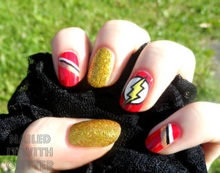 The Flash by NailedItWithGlitter
