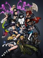 The Teen Phalanx by VividAnima by Joybuzzer