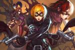 Teen Phalanx Gunner Girls by Elsevilla