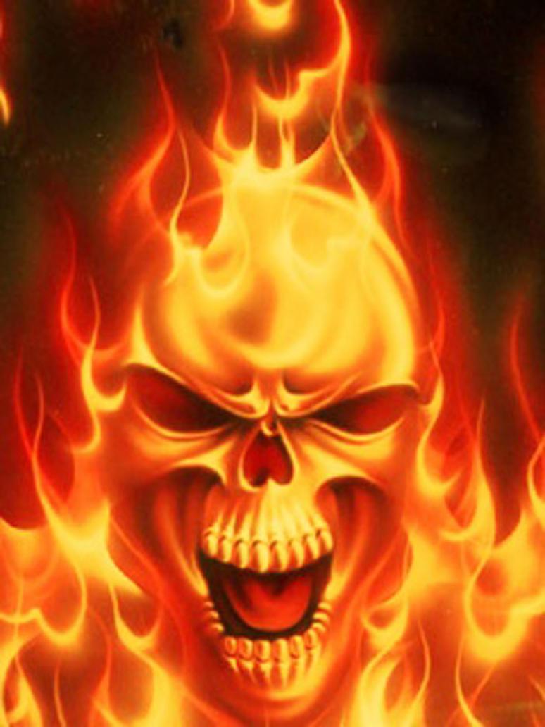 Fire power skull by goldenkulle9 on deviantart fire power skull by goldenkulle9 voltagebd Choice Image