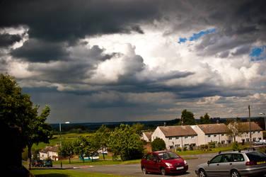 Storm clouds by villarule