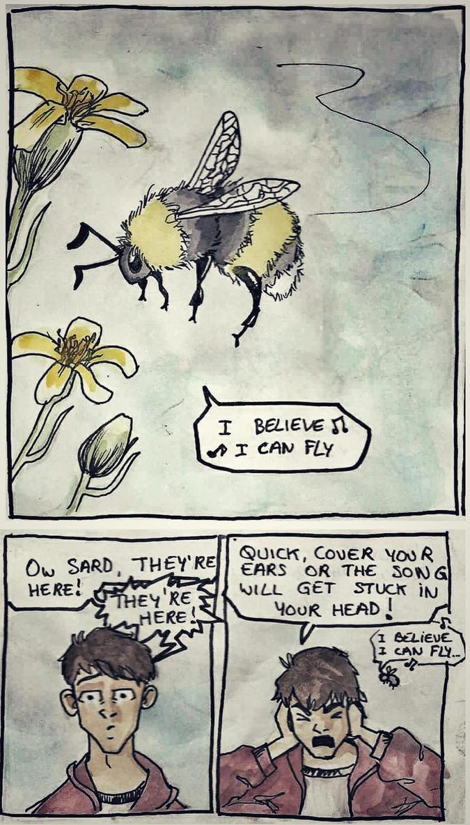 I believe I can fly...  by Zeena-h