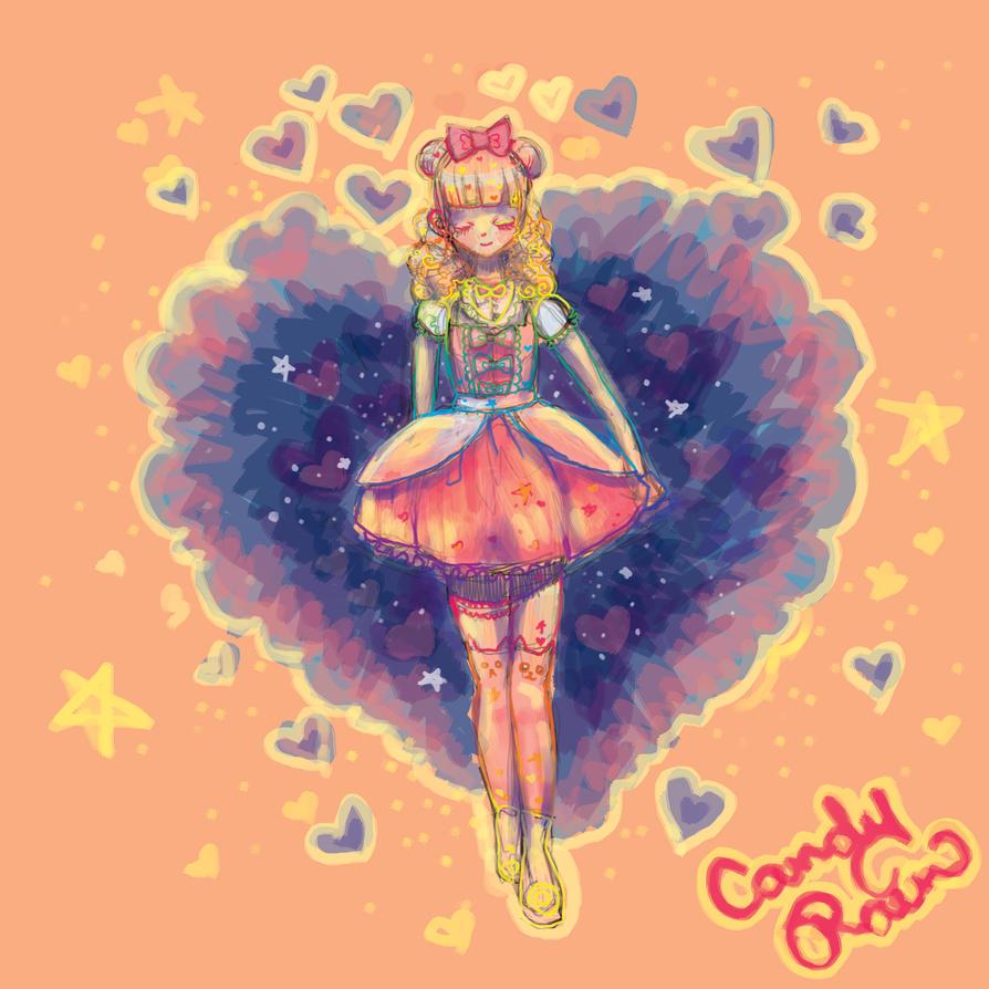 Celestial Heart Explosion by WoodlandWonder
