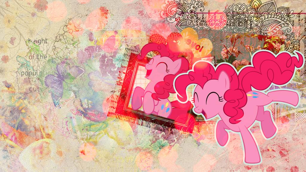 Wallpaper: Pinkie Pie by MadBlackie