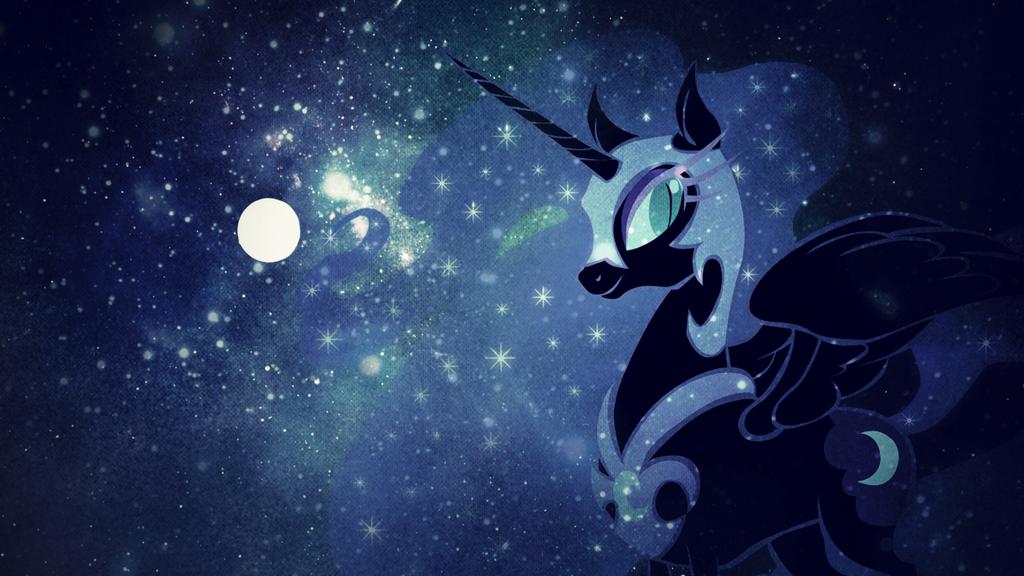 Wallpaper: Nightmare Moon by MadBlackie