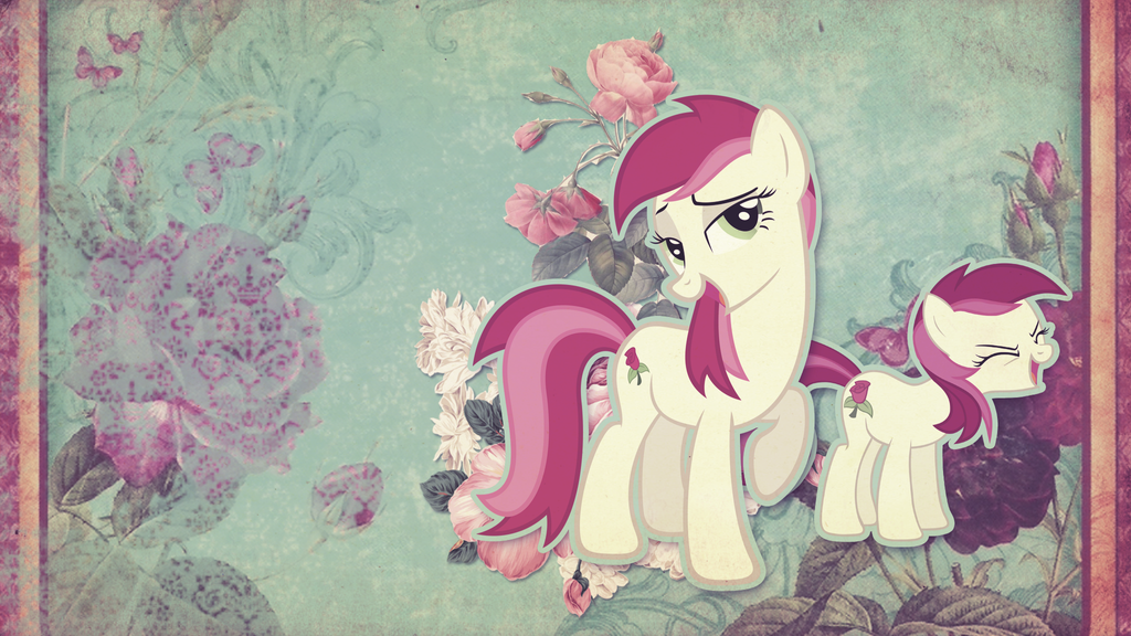 Wallpaper: Roseluck by MadBlackie