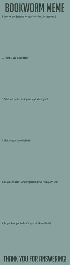 BOOKWORM MEME