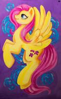 Fluttershy by MadBlackie