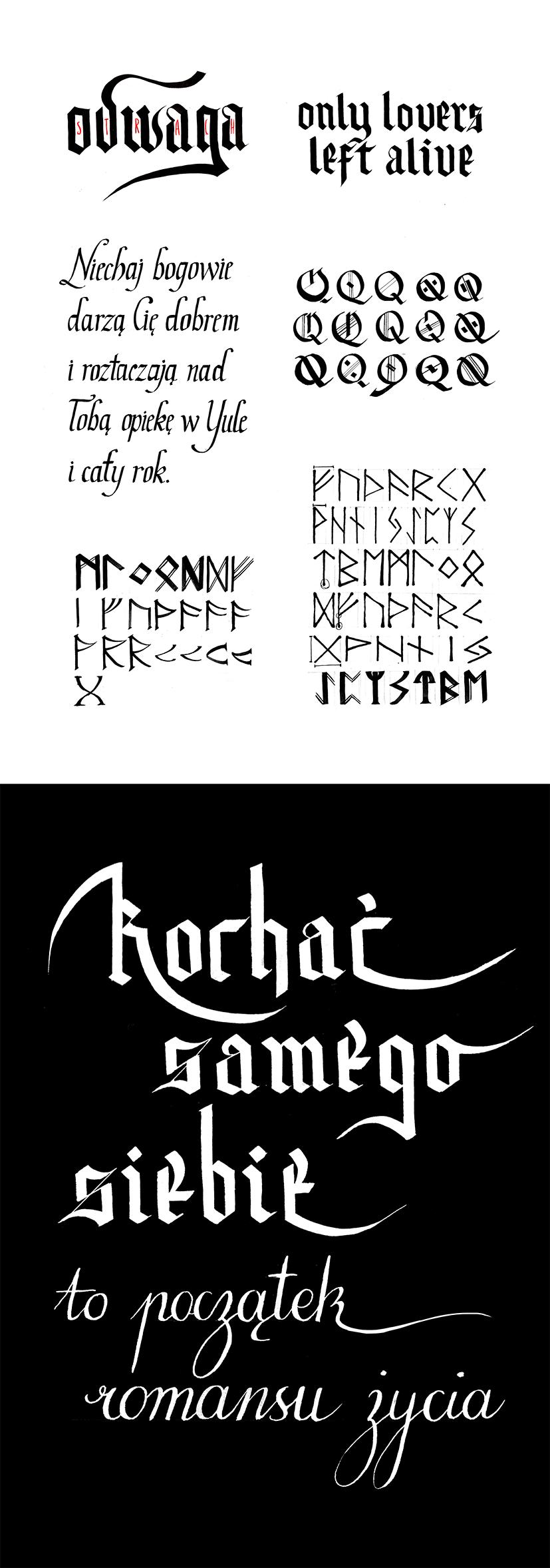 Calligraphy School Works By Madblackie On Deviantart