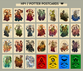 HP1: Harry Potter Postcards