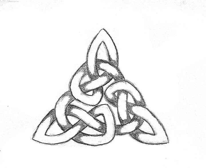 how to draw celtic knots rs
