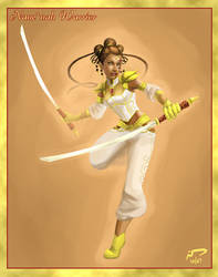 Nane'nah Warrior by Majoh