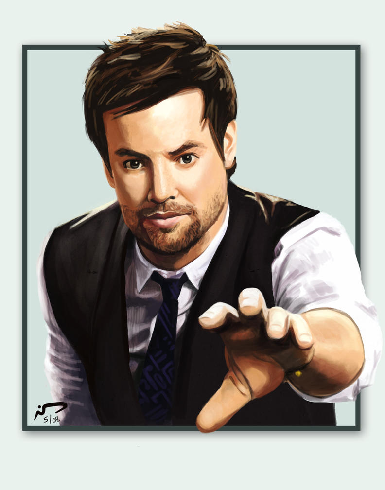 David Cook Painting 8 by Majoh