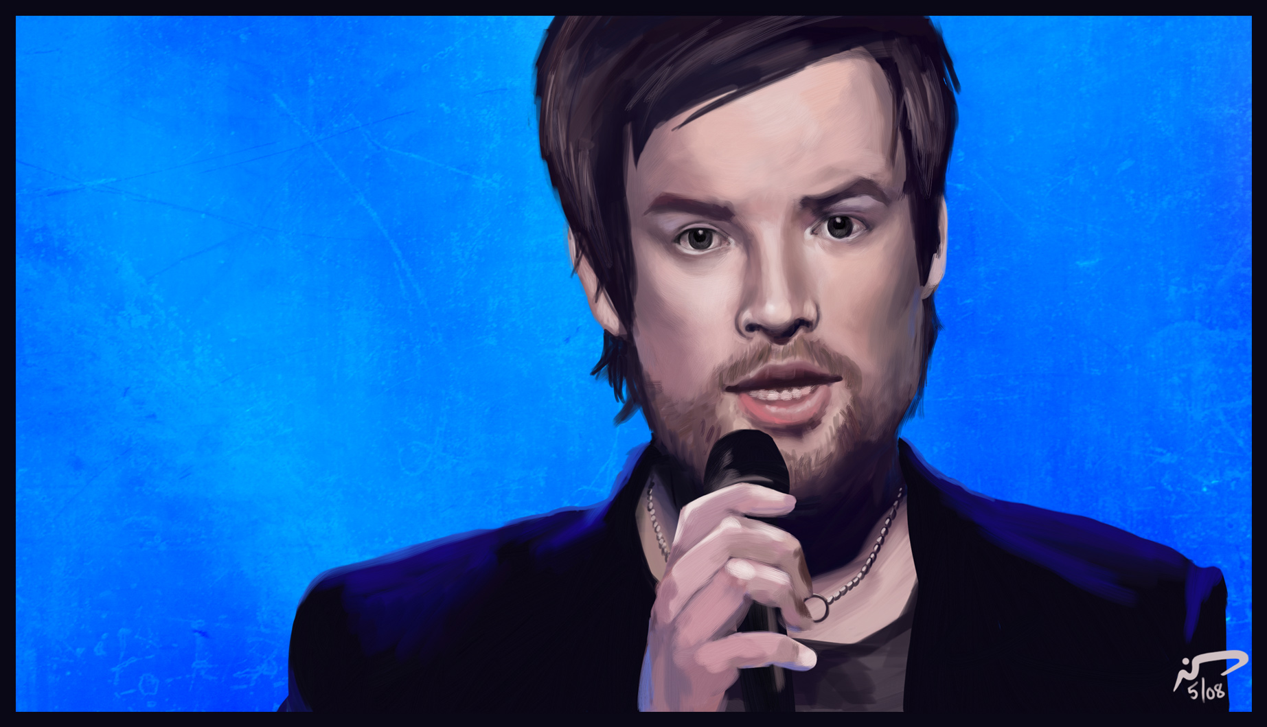 David Cook Painting 9 by Majoh
