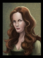 Catelyn Stark by Majoh