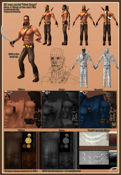 Khal Drogo 3D model