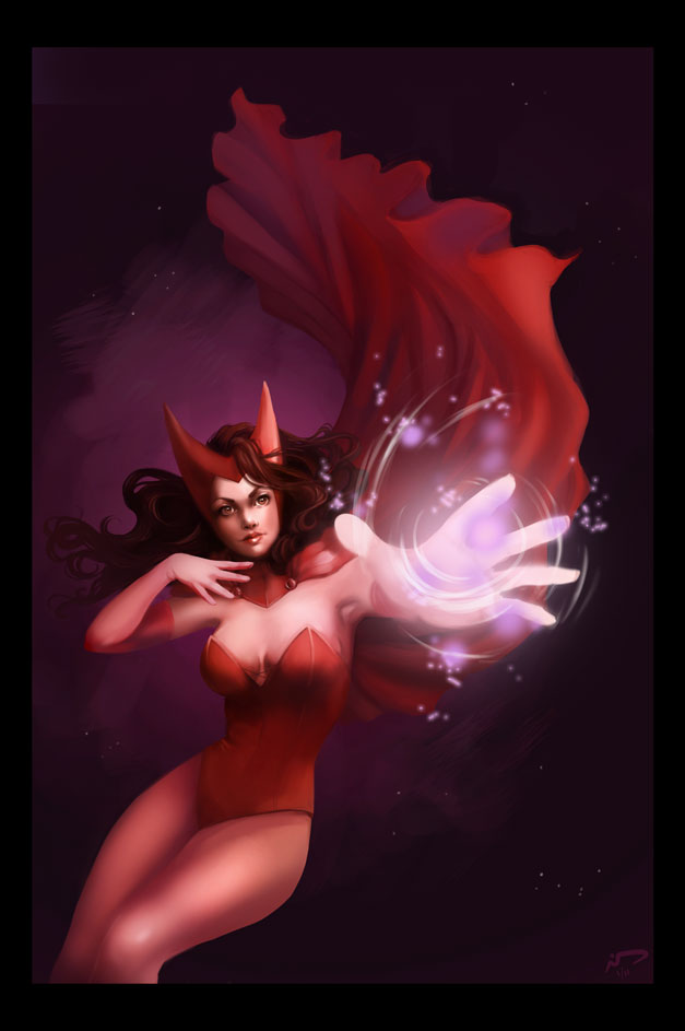 Scarlet Witch by Majoh
