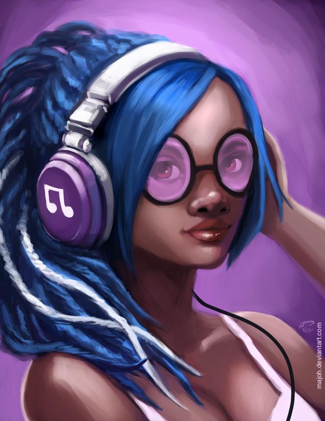 DJ Pon3 by Majoh