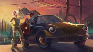 Lethal Lemon Car Crew by Majoh