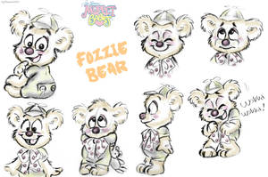 Muppet Babies - Fozzie Sketches by LolliDoodle
