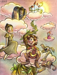 Jack and the Beanstalk by LolliDoodle