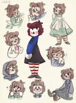 [G] - Raggedy Bailey (sketches)