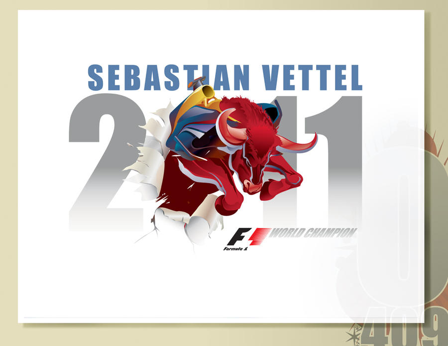 SEBASTIAN VETTEL F1 2011 WORLD by olo409