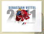 SEBASTIAN VETTEL F1 2011 WORLD