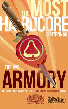 2013 NYC ARMORY CENTENNIAL FOUNTAIN ART SHOW