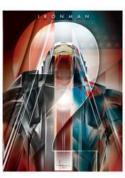IRONMAN 2 Vector Mashup - Orlando Arocena 2013 by olo409