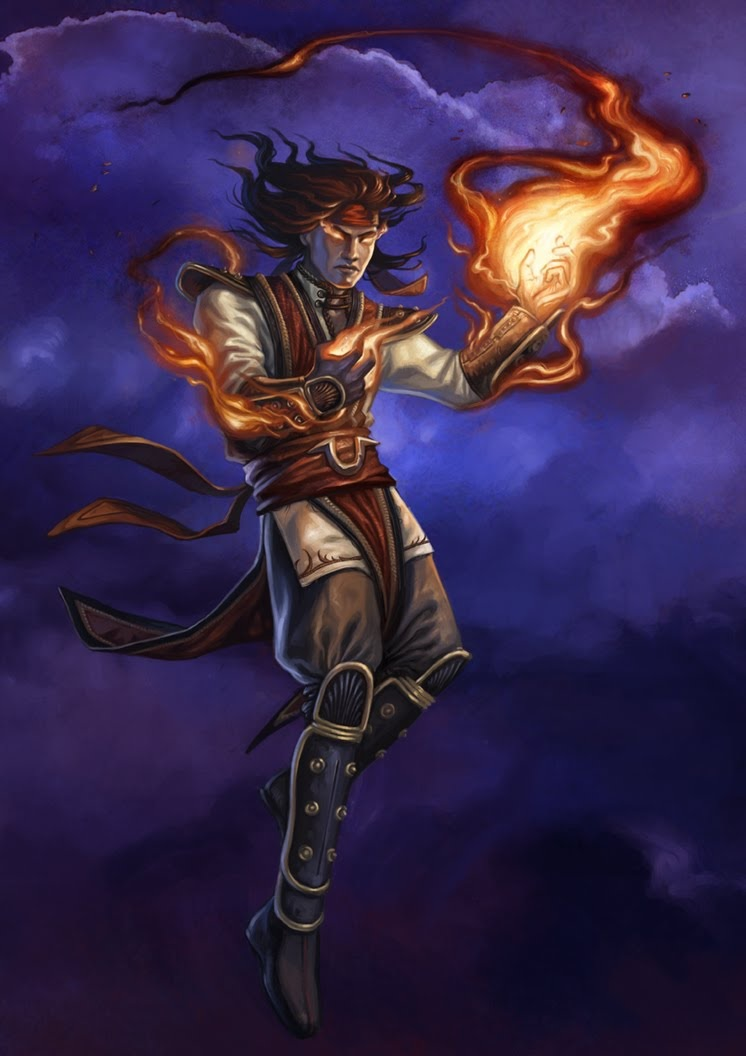 Liu Kang The God Of Fire By Airachnid1301 On Deviantart