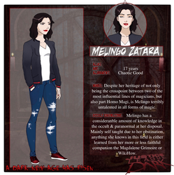 DC Dark: Melingo Zatara