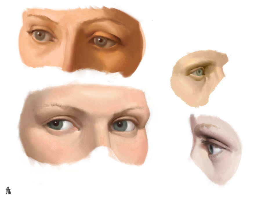Eyes Studies by Exidelo